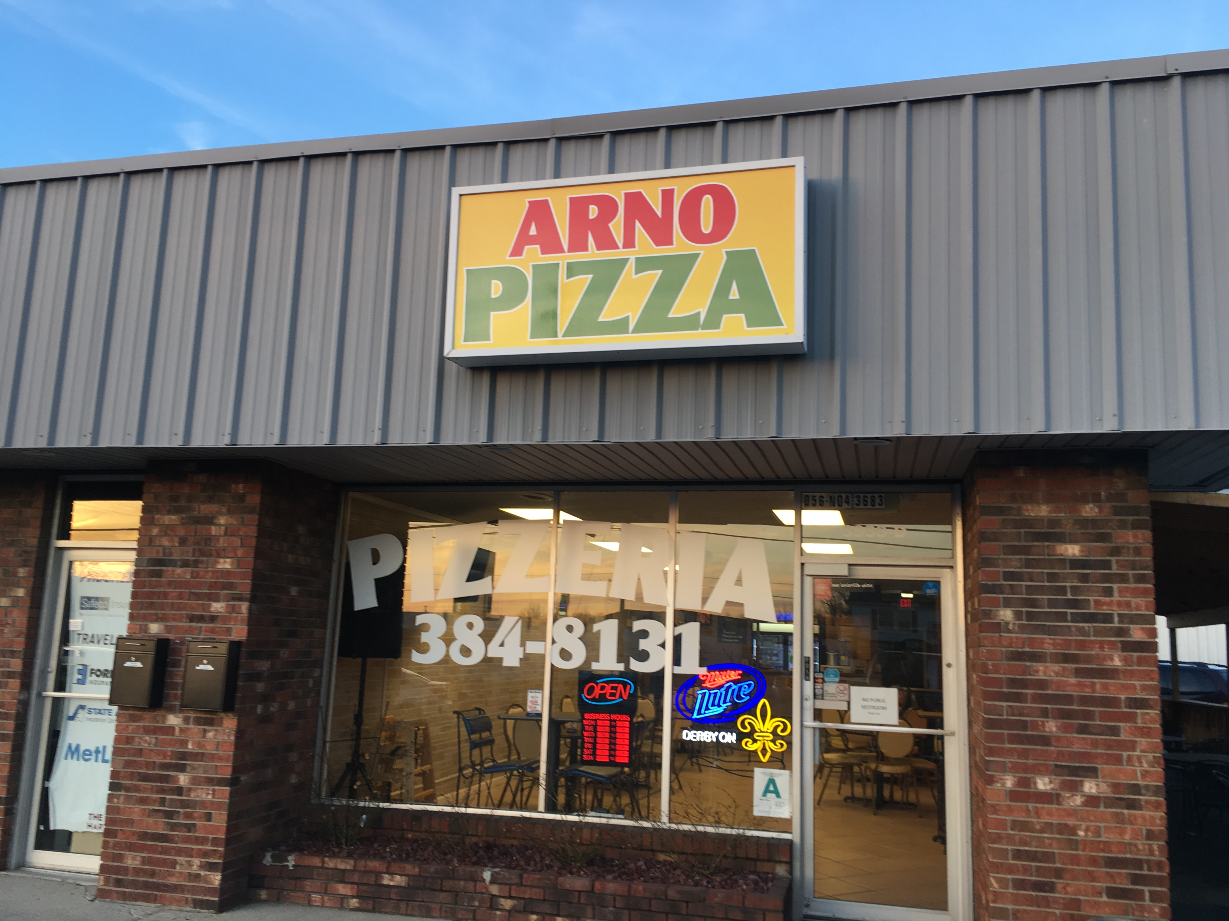 Arno Pizza on Bardstown Road